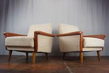 60er Vintage Sessel Retro 2x Easy Chair Danish 60s Loungesessel Mid-Century