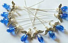 Birthstone/Friendship Angel Pendant Kit Makes 10 - September Sapphire - SP