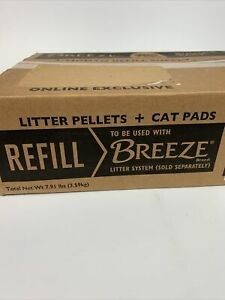 Purina Tidy Cats BREEZE Litter System Refills,7.91 lb.Pads & Pellets Bundle Pack