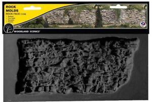 Woodland Scenics C1248 Terrain System Rock Face Mold