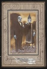 GUS FINK Art outsider ORIGINAL goth lowbrow helnwein antique THE BLOOD OATH