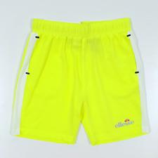 Ellesse Versano Short Junior - Neon Yellow/White