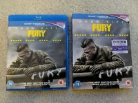 Fury - Limited Edition Booklet (Exclusive to Amazon.co.uk) Blu ray