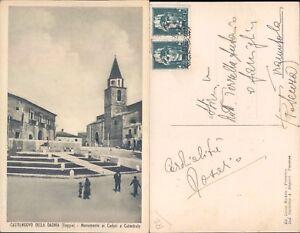 CASTELNUOVO DELLA DAUNIA, LA CATTEDRALE, ANNI 30-PUGLIA-(FG)FP/VG-47188