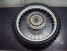 92 1992 KAWASAKI KX80 KX 80 BIKE MOTORCYCLE WHEEL TIRE RUBBER  SPOKES 70/100-17