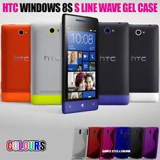 Étuis, housses et coques HTC Windows Phone 8S en silicone, caoutchouc, gel pour téléphone mobile et assistant personnel (PDA) HTC