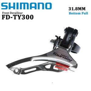 Shimano Tourney FD-TY300 6/7/8Speed MTB Bike Front Derailleur 31.8MM Bottom Pull