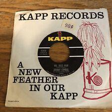 Johnny Cymbal Mr. Bass Man Kapp Records K-503X (January 1963) VG+