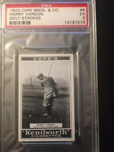 1923 Cope Bros & Co HARRY VARDON Golf Strokes..PSA 5 EX