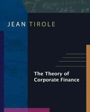 The Theory of Corporate Finance by Jean Tirole (English) Hardcover Book Free Shi