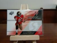2004 Upper Deck SPx Michael Clayton #SWR-MC Rookie Swatch Supremacy Jersey Card