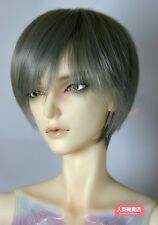 BJD Doll Hair Wig 8-9 inch 20-22cm Grey 1/3 SD DZ DOD LUTS Short hair
