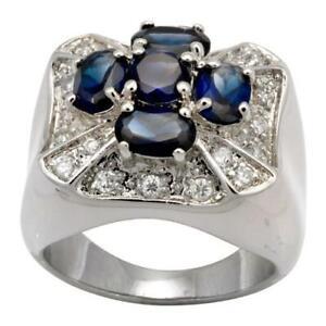 Blue Cross Ring