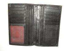 REAL LEATHER PURSE/WALLET ONE SIZE FF 6301 REAL, GENUINE & ORIGINAL LEATHER