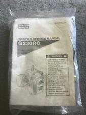 Genuine Zenoah GoPed G23ORC G23 orc G23LH Service Manual Gas Filter Fuel Line