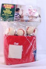 Strike Zone Baseball Game Target Throw Mat and Balls Stick Vintage New n Package