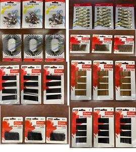 Annie Hair pins (3pack) Choose Type*h