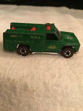 Hot Wheels 1974 Redline Forest Service Truck Unit 71 Green Hong Kong Vintage