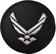 """Stargate SG-1 Airforce Wing Uniform Logo 2 1/2"""" Diameter Embroidered PATCH"""