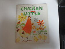 Chicken Little, by Stella Williams Nathan, vintage children's book, 1966.