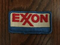 Vintage EXXON Gasoline Station Uniform Patch Petroleum Oil ESSO ENCO Tiger Tank