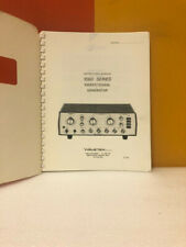 Wavetek 1060 Series Sweepsignal Generator Instruction Manual
