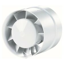 "Inline Extractor Fan 100mm / 4"" Ducting Pipe Duct Hose Ventilator Bathroom HYD10"