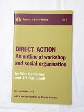 1972, DIRECT ACTION An Outline of workshop and social organisation, Reprint SB