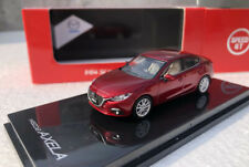 Speed GT 1/64 Alloy car model red Mazda 3 Axela Gift collection