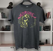 Chrome  t shirt  post punk