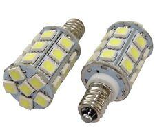 2x ampoules E10 27LED SMD 12V lumière blanche