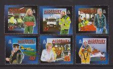 Alderney 2001 MNH UMM Stamp Set SG A163-A168 Community Services Part 1 10% off 5