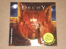 DECOY - CALL OF THE WILD - CD PROMO