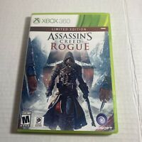 Assassin's Creed: Rogue -- Limited Edition (Microsoft Xbox 360, 2014) Free Ship