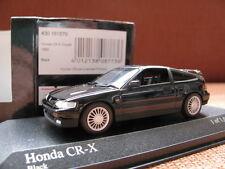 1/43 Minichamps honda CR-X CRX Coupe (1989) black diecast