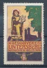 608957) Vignette Gesangsverein Untersberg München