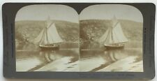 Olso Christiania Fjord Norvège Norway Photo Stereo Vintage