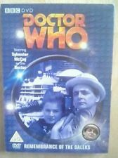 Doctor Who  Remembrance Of The Daleks (DVD 2007) Limited Edition SLIPCASE Dr Who