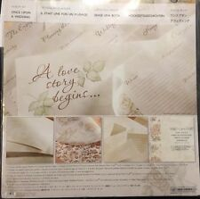 NEW Creative Memories Once Upon A Wedding Kit 12x12, 15 Sheets Perfect Fit