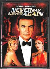 Never Say Never Again (DVD, 1983) Sean Connery, James Bond 007, Region 1 USA