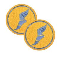 Team Fortress 2 Soldier Patch Patches Set of 2 Team Blu Blue TF2 Valve Steam NEW