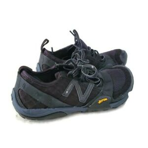 New Balance Womens WT10 Minimus Trail Low Top Lace Up Running, Black, Size 5 R