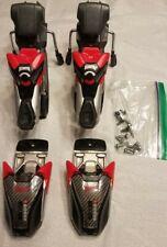 Marker Titanium 1200 Biometric Piston EPS Red Ski Bindings with Hardware