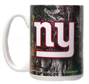 NFL New York Giants 15oz Realtree Camo Mug