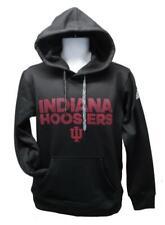 NEW Indiana Hoosiers Mens Sizes S-M-L-XL-2XL Black Clima Warm Adidas Hoodie
