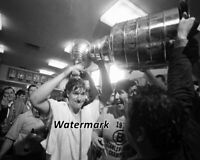 NHL 1969 - 70 Boston Bruins Bobby Orr Celebrating with Stanley Cup 8 X 10 Photo