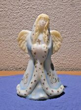Fenton Praying Angel Figurine #163 Handpainted & Signed by Neader Fenton Sticker