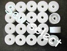 20 curtain track bracket spacers blind washers round packing adjusting discs