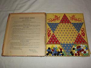 VINTAGE RARE TOY 1930S BERRY PINK CHINKO CHECKO MARBLO GAME