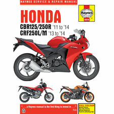 Honda CBR125R CBR250R CRF250L CRF250M 2011-14 Haynes Workshop Manual